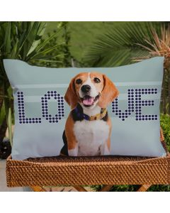 Fronha Avulsa Estampa Digital Decore  - Beagle