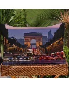 Fronha Avulsa Estampa Digital Decore  - France