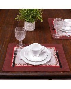 Fundo de Prato Dia a Dia Karsten - Cafe