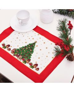 Fundo De Prato Natal Karsten - Tempo de Reviver