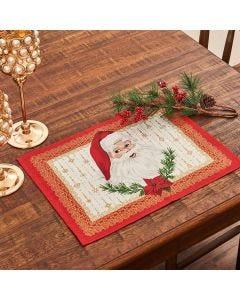 Fundo de Prato Natal Karsten - Tempo de Abraçar