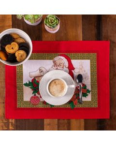 Fundo de Prato Natal Karsten - Tempo de Sonhar