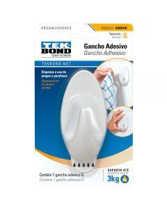 Gancho Âmbar De Plástico G Tekbond - Branco