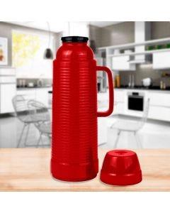 Garrafa Térmica 1 Litro Use Wave Mor - Vermelho
