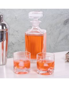 Garrafa para Whisky Hamilton 700ml Lyor - Vidro