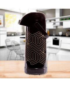Garrafa Térmica 1 Litro Magic Pump Termolar - Preto