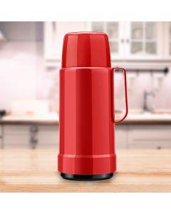 Garrafa Térmica Lisa GLT 1 Litro Invicta - Vermelho