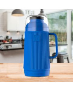 Garrafa Térmica Mundial 750ml Termolar - Azul Marinho