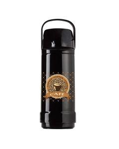 Garrafa Térmica Pressão 1 Litro Invicta - Black