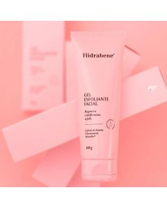 Gel Esfoliante Facial 100g Hidrabene - Rosa