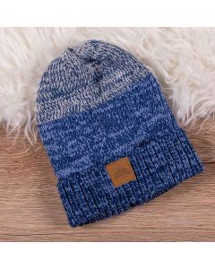 Gorro De 4 A 10 Anos Tricolor Hot Dog - Azul