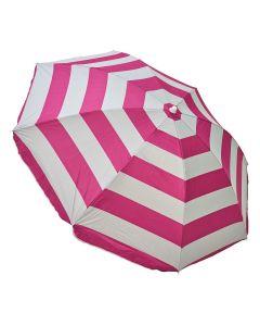Guarda-sol Listrado 180cm Master Beach - Pink