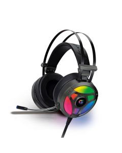 Headset Gamer RGB H1 PRO Fortrek - Cinza