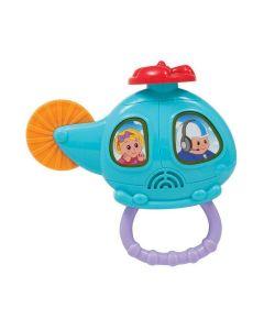 Helicóptero Musical 7968 Buba Baby - Azul