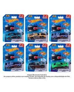 Hot Wheels Carro Com Chaveito Lançador Color Shifte Fun - 8618-8