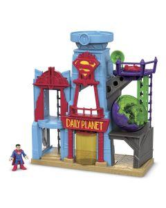 Imaginext Metrópolis DC Super Homem DTP30 Fisher-Price - Azul
