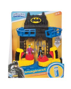 Imaginext Batalha na Batcaverna DC Fisher-Price - Preto
