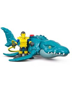 Imaginext Jurassic World Fisher-Price - FMX88  - Azul