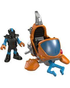 Imaginext Veículos Oceano Básico - Mattel DFY01 - DIVERSOS