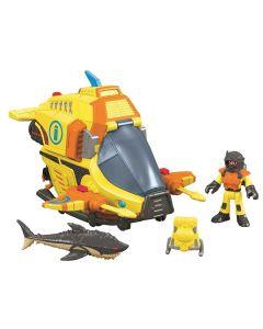 Imaginext Veículos Oceano Submarino - Mattel DFX95 - DIVERSOS