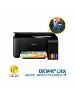 Impressora Multifuncional EcoTank L3150 Epson - Bivolt