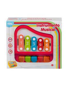 Instrumento Musical Havan - HBR0140 - Vermelho