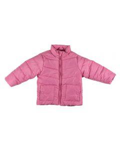 Jaqueta de Bebê com Forro Estampado Yoyo Baby Rosa