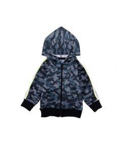 Jaqueta de Bebê Moletom Camuflada Yoyo Baby Mescla