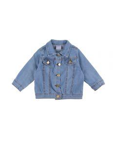 Jaqueta Jeans de Bebê Yoyo Baby Azul