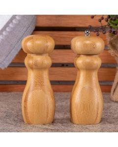 Jogo de 02 Moedores Finecasa - Bambu
