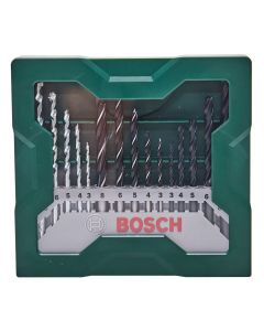 Jogo de Brocas Bosch X-Line 15 peças - Aço