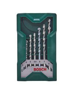 Jogo de Brocas Bosch X-Line para Concreto 7 peças - Aço