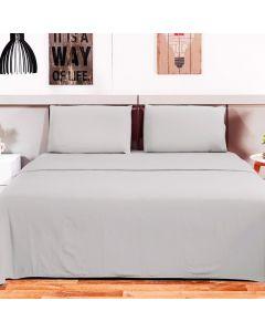 Jogo de cama Queen 4 peças Loft Camesa - Concreto