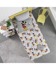 Jogo de Cama Solteiro 2 Peças Estampa Localizada Disney Havan - Mickey Fun