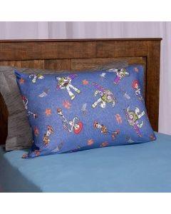 Jogo de Cama Solteiro 2 Peças Toy Story Havan - Woody e Buzz Azul