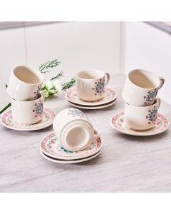 Jogo de Chá Donna Oxford 12 peças - Perola