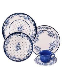 Jogo De Jantar Biona Sophia 20 Peças Oxford - Porcelana