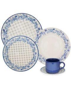 Jogo De Jantar Cerâmica 20 Peças Donna - Anis