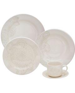 Jogo De Jantar Cerâmica 20 Peças Donna - Dalila