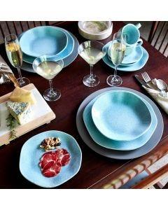Jogo de Jantar e Chá 30 peças Ryo Oxford - Blue Bay