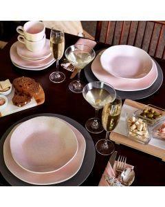 Jogo de Jantar e Chá 30 peças Ryo Oxford - Pink Sand