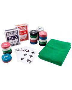 Jogo de Poker 100 Fichas Western - Colors