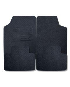 Jogo de Tapete PVC Automotivo Universal Preto P3088 Ecotap - DIVERSOS