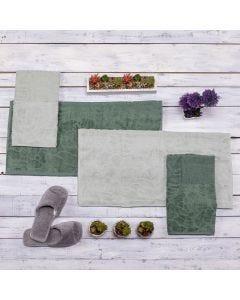 Jogo de Toalhas 4 peças Yaris - Verde