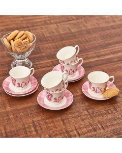 Jogo de Xícaras de Café Siena 12 Peças Finecasa - Rosa
