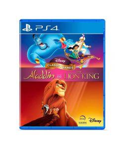 Jogo Disney Classic Games: Aladdin e O Rei Leão PS4 - Aventura