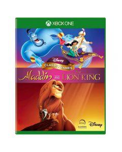 Jogo Disney Classic Games: Aladdin e O Rei Leão Xbox One - Aventura
