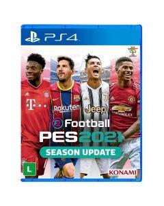 Jogo Efootball Pes 2021 Playstation 4 - Esporte
