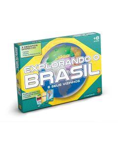 Jogo Explorando o Brasil 01658 Grow - Colorido