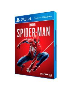 Jogo PS4 Spiderman Sony - Ação